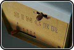 Singer 328k closeup
